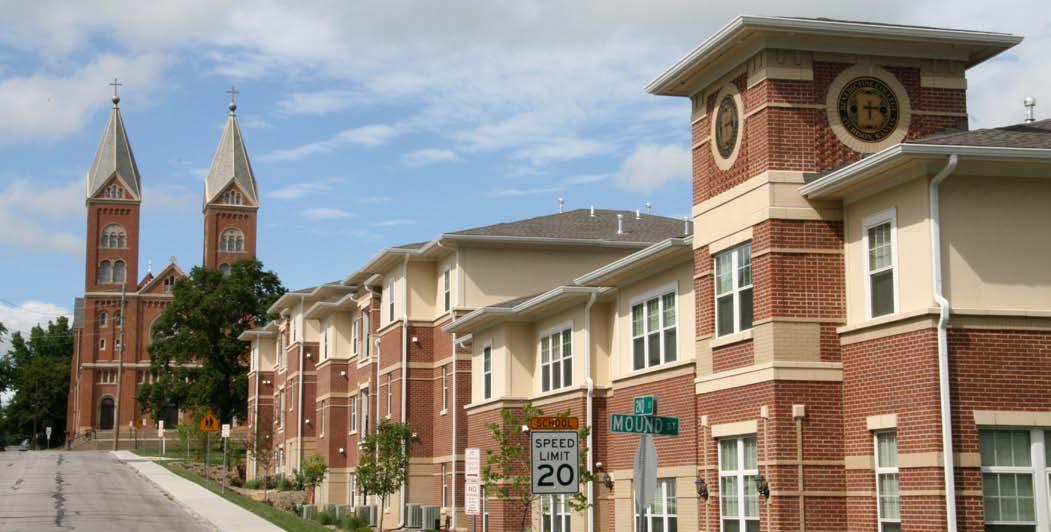 Benedictine College New Building
